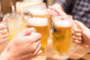 12月は忘年会や送迎会などの飲み会が急増する時期