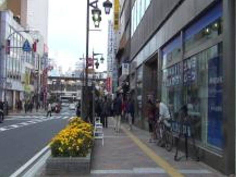 市川ストーカー殺人事件が起こったJR本八幡駅付近