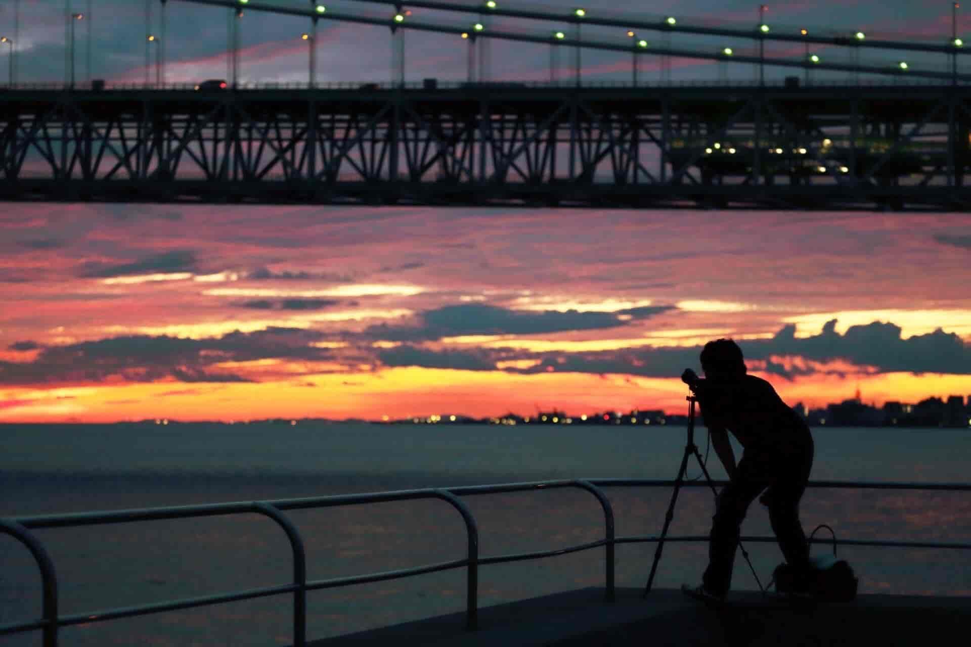 ラブ探偵事務所と他社の茨城県大洗町での夜間暗視撮影